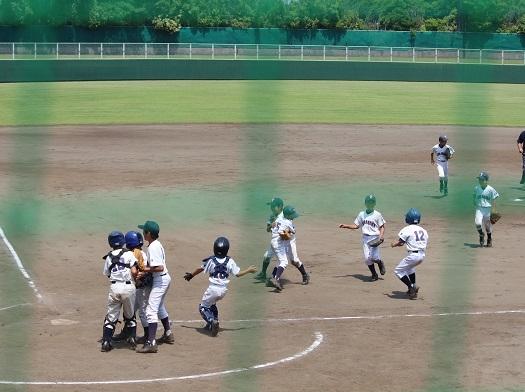 習志野市少年野球 夏季大会開催