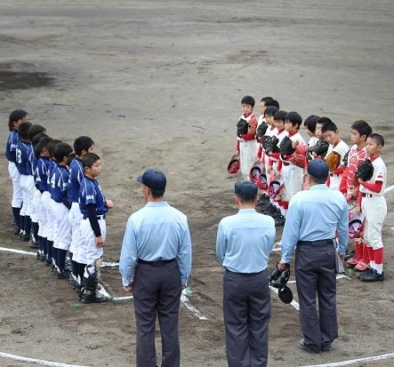 少年野球千葉県選手権(ろうきん旗)大会開催